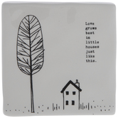Love Grows Best House and Tree Decor