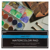 """Master's Touch Watercolor Paper Pad - 6"""" x 6"""""""