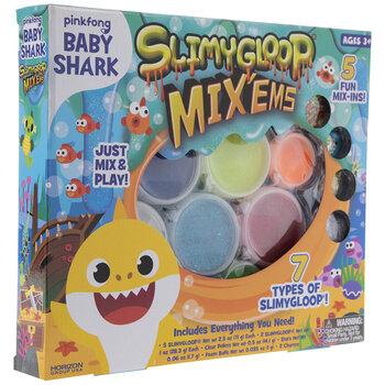 Baby Shark SlimyGloop Mix'ems Slime Kit