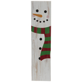 Distressed Snowman Magnet