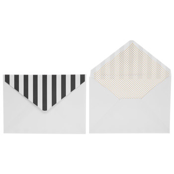 Stripes & Polka Dots Invitations