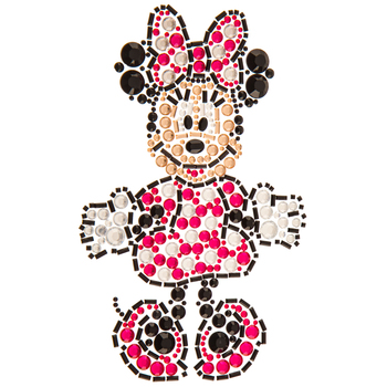 Minnie Mouse Rhinestone Sticker