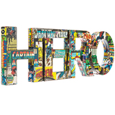 Hero Wood Wall Decor