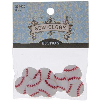 Baseball Shank Buttons