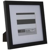 "Black Flat Frame - 5"" x 5"""