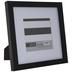 Black Flat Frame - 5