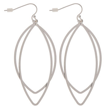 Double Marquise Earrings
