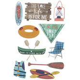 The Lake Life 3D Stickers