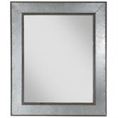 Galvanized Metal Wall Mirror