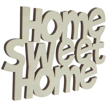 Home Sweet Home Wood Cutout