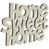 Home Sweet Home Wood Cutout