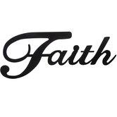 Faith Metal Wall Decor