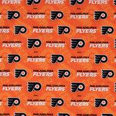 NHL Philadelphia Flyers Allover Cotton Fabric