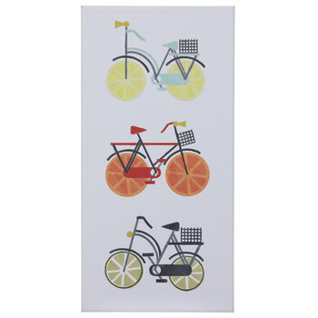 Citrus Bike Wood Wall Decor