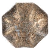 Distressed Gold Flared Metal Knob