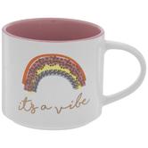 It's A Vibe Rainbow Mug