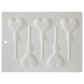 Heart Pops Candy Mold