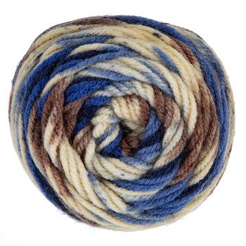 Blue Camo Stripe I Love This Yarn