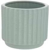 Ridged Flower Pot