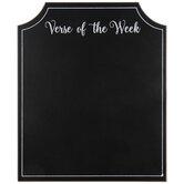Verse Of The Week Chalkboard Wood Decor