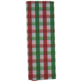 Red, Green & White Plaid Tissue Paper