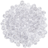 Clear Faceted Beads