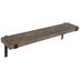 Brown Rustic Wood Wall Shelf