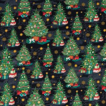 Christmas Trees Cotton Fabric
