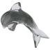Gray Glass Dolphin