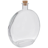 Round Glass Bottle - 16 Ounce