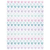 """Hearts Scrapbook Paper - 8 1/2"""" x 11"""""""