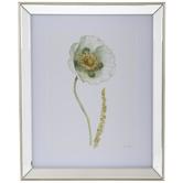 Single Flower Mirror Framed Wall Decor