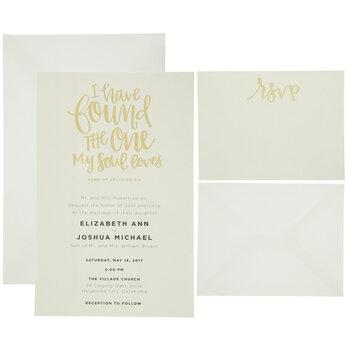 Song of Solomon 3:4 Wedding Invitations