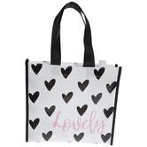 Lovely Heart Tote Bag