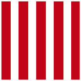 "Red & White XXXL Striped Scrapbook Paper - 12"" x 12"""