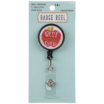 Best Teacher Ever Badge Reel