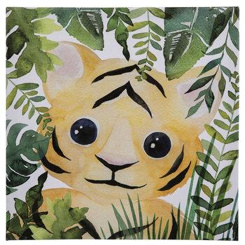Jungle Tiger Canvas Wall Decor