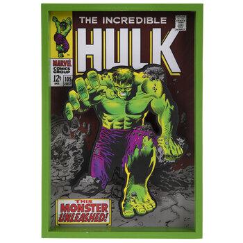 The Incredible Hulk Wood Wall Decor