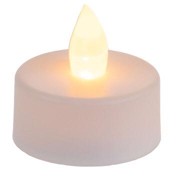 White Flickering Tea Light LED Candles