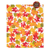 Thankful & Blessed Leaves Cookie Plate Bags With Tags