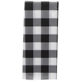 Black & White Buffalo Check Tissue Paper