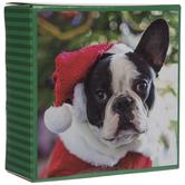 French Bulldog In Santa Costume Puzzle