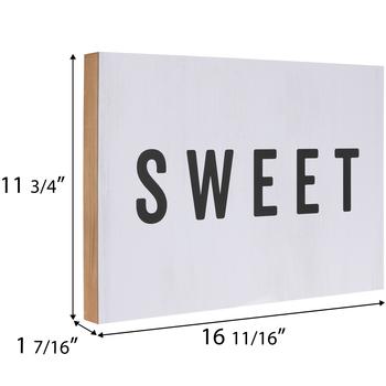 Sweet, Savory & Spicy Wood Wall Decor Set