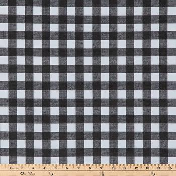 Buffalo Check Oilcloth Fabric
