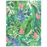 "Tropical Foliage Scrapbook Paper - 8 1/2"" x 11"""
