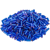 Czech Glass Straight Bugle Beads