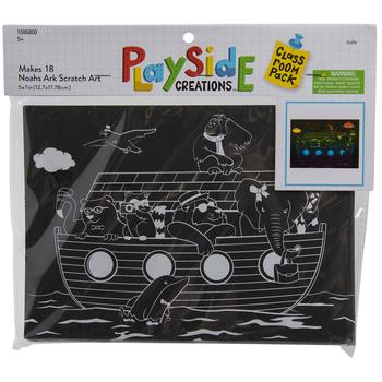 Noah's Ark Scratch Art Craft Kit