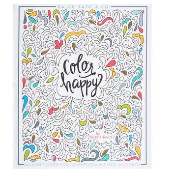Color Happy Coloring Book