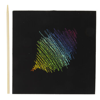Holographic Scratch Art Kit