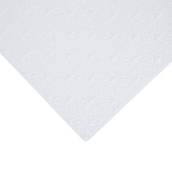 Miniature White Tin Ceiling Tiles